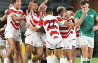 ラグビー日本代表がアイルランドに勝利
