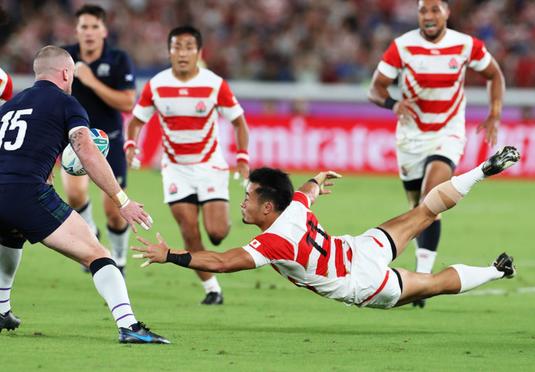 ラグビー日本代表が世界を魅了した技術トップ5の紹介動画