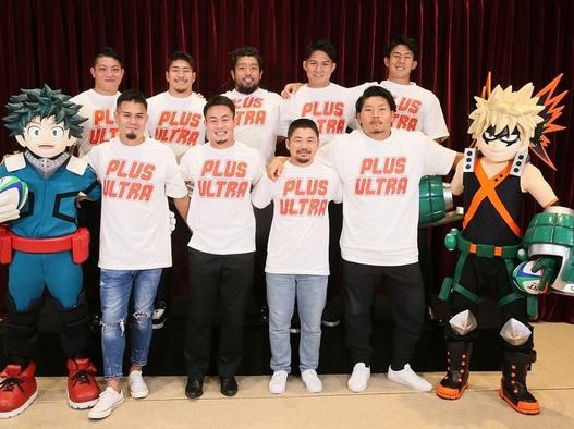 『僕のヒーローアカデミア』新作映画にラグビー日本代表選手が登場!