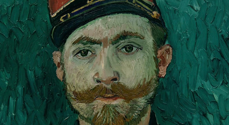 肖像画の目