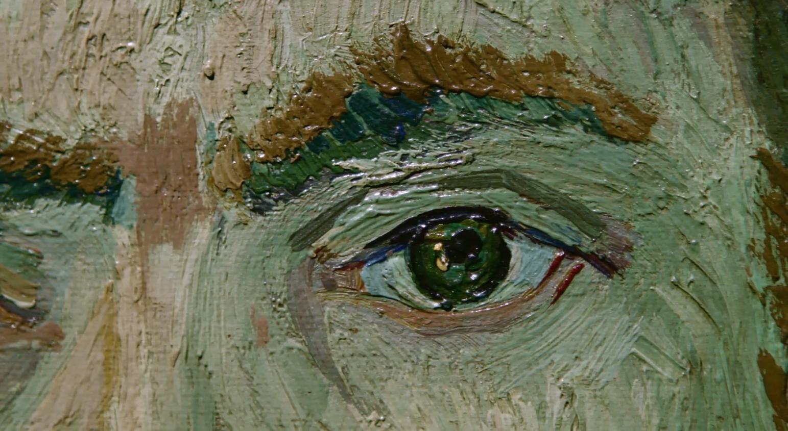 肖像画の瞳