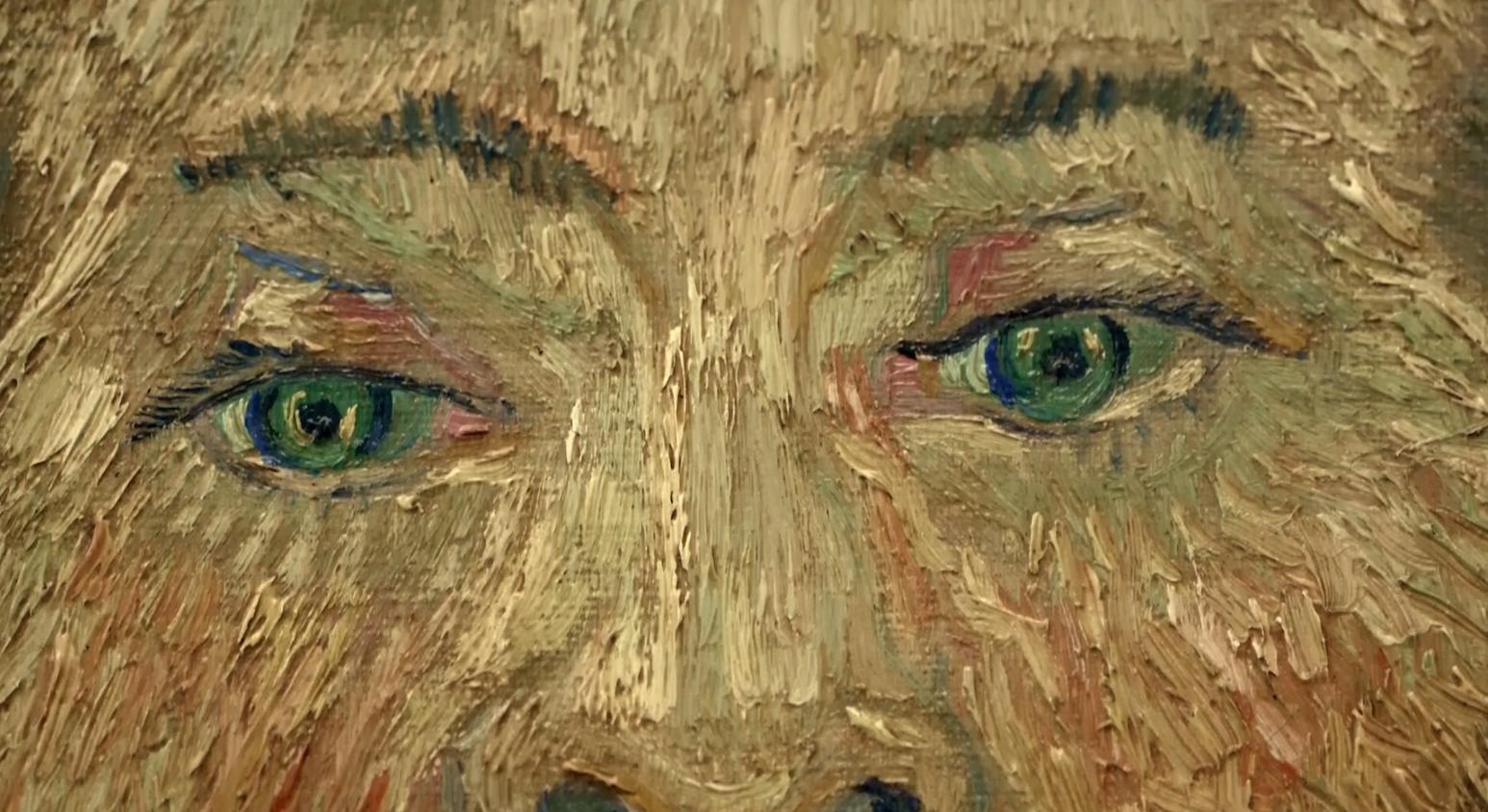 肖像画の「瞳」