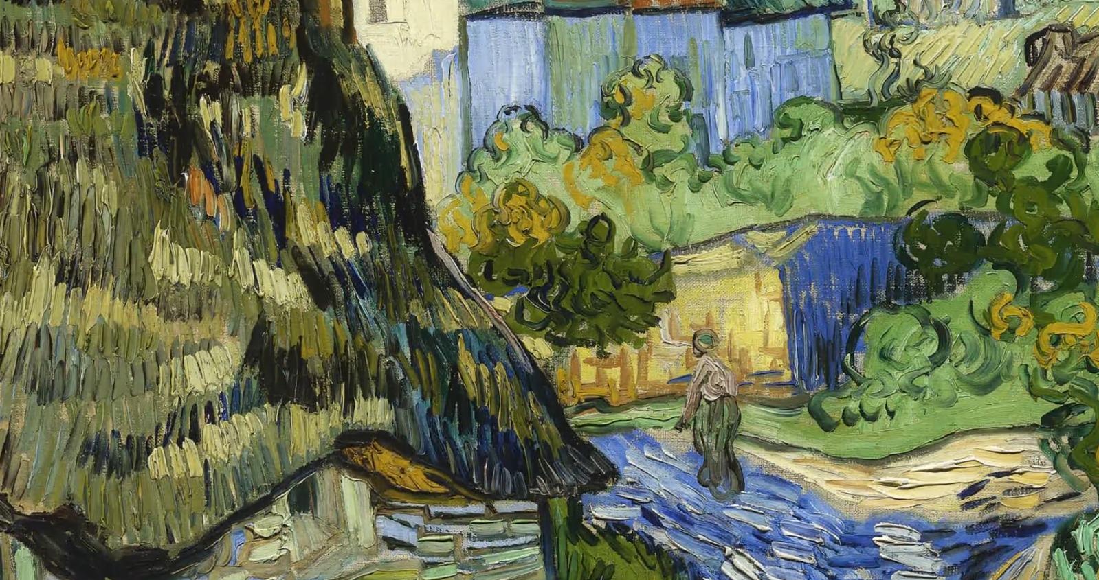 ゴッホとヘレーネの森 クレラー=ミュラー美術館の至宝に登場するゴッホの絵