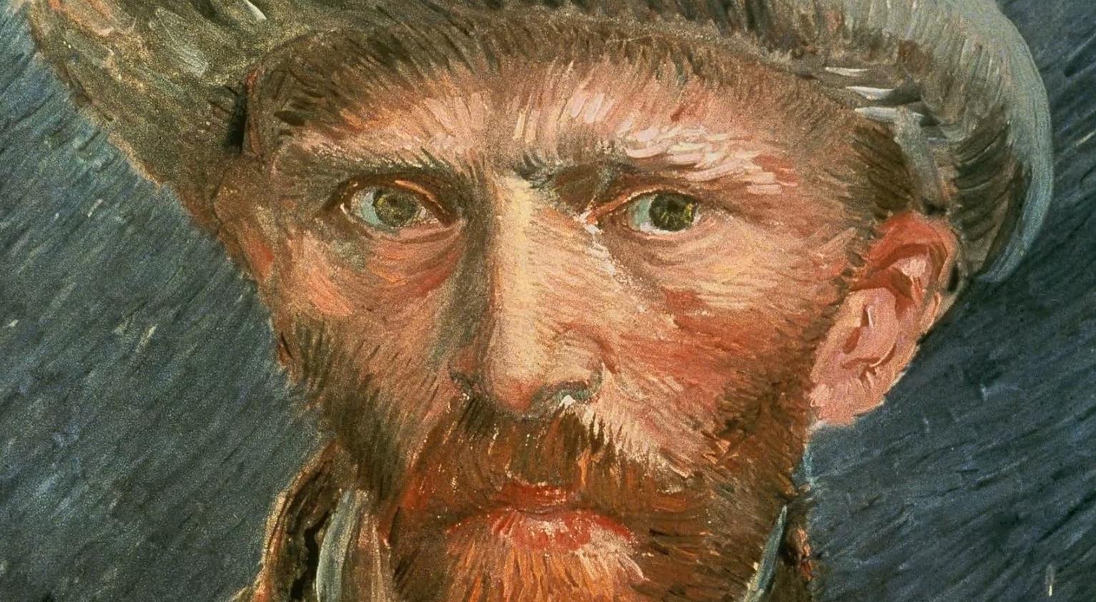 自画像の瞳