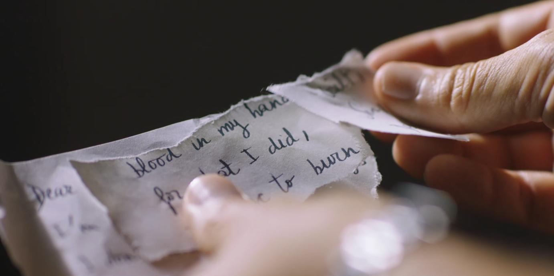 ニカが書いたヨハン宛の手紙