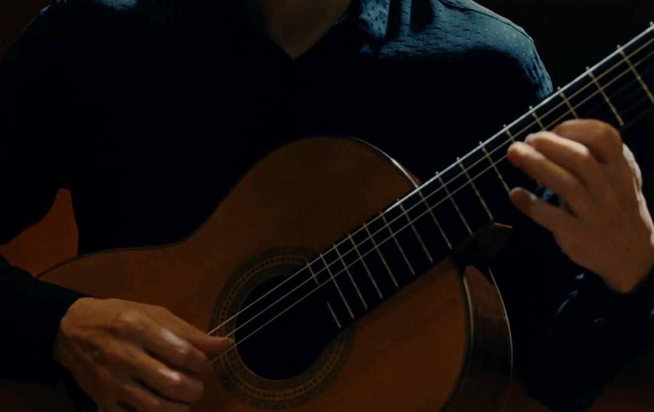 福山雅治のクラシックギター演奏
